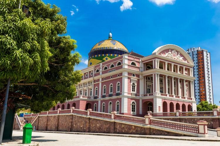 théâtre Amazanos à Manaus