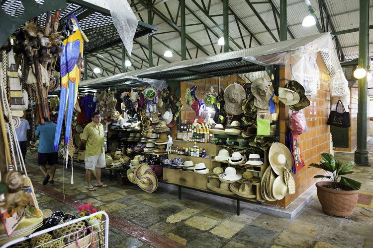 Le marché à Manaus