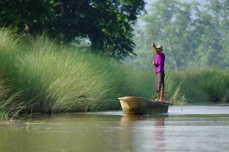 pirogue - A Manaus sur l'Amazone