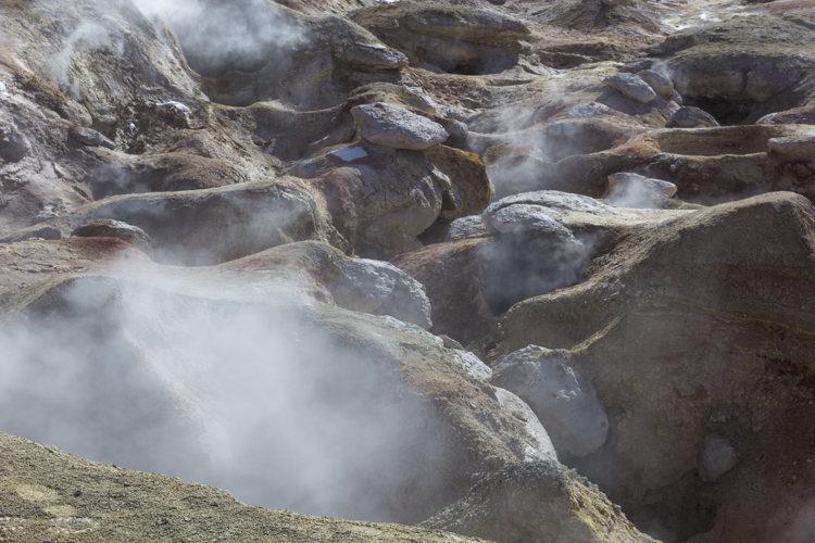 Les geysers Sol de Manana - road-trip Bolivie