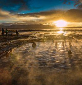 En Bolivie - Salar de Uyuni - soleil