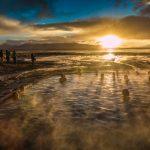 En Bolivie à Salar de Uyuni