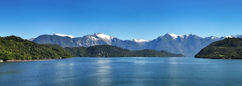 fjords chilien - passage à Chiloé