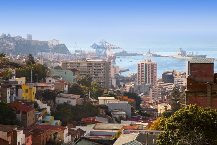 Vue-Valparaiso-road-trip-Chili