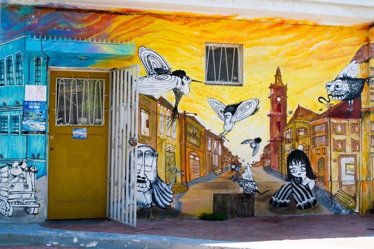 Valparaiso - road-trip au Chili