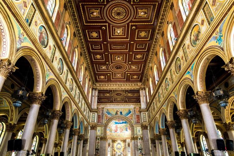 L'intérieur de la Nossa Senhora de Nazare Cathedral in Belem do Para