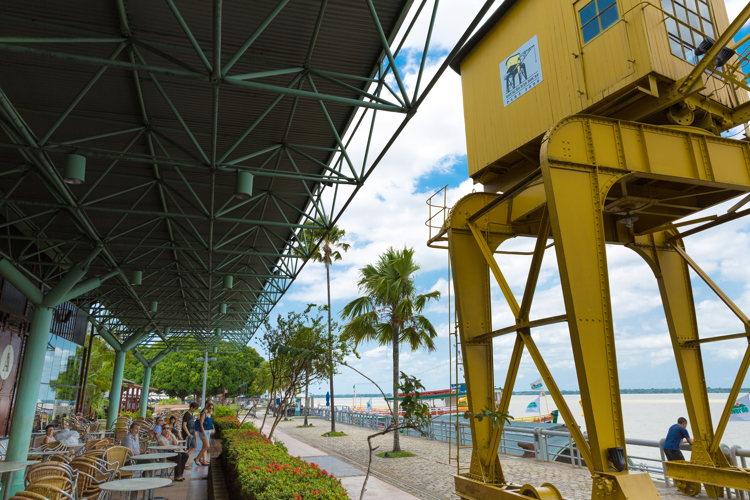 Dock Voyage au Brésil à Bélem