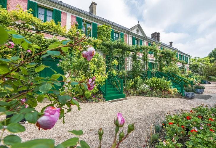 La maison de Monet à Giverny