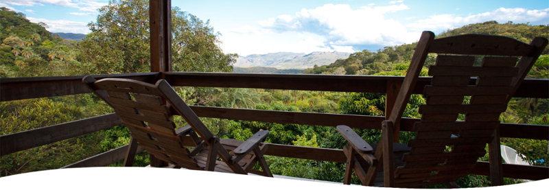 terrasse - Ibitipoca au Brésil