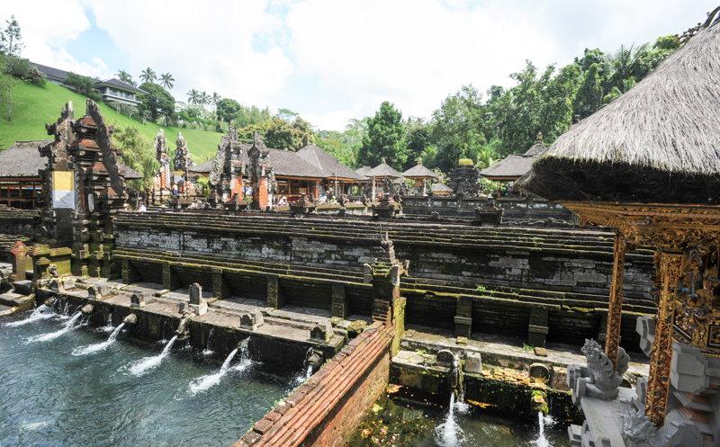 Gunung Kawi à Ubud lors d'un voyage Bali