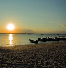 Voyage Bali - Coucher de soleil à Nusa Cendigan