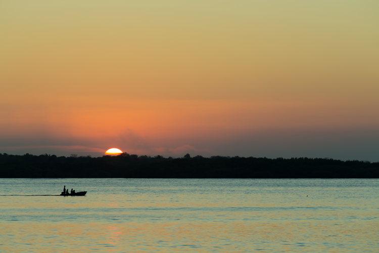 Faire une plongée à Lembogan à Bali - coucher de soleil