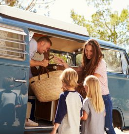 Prendre la route en famille