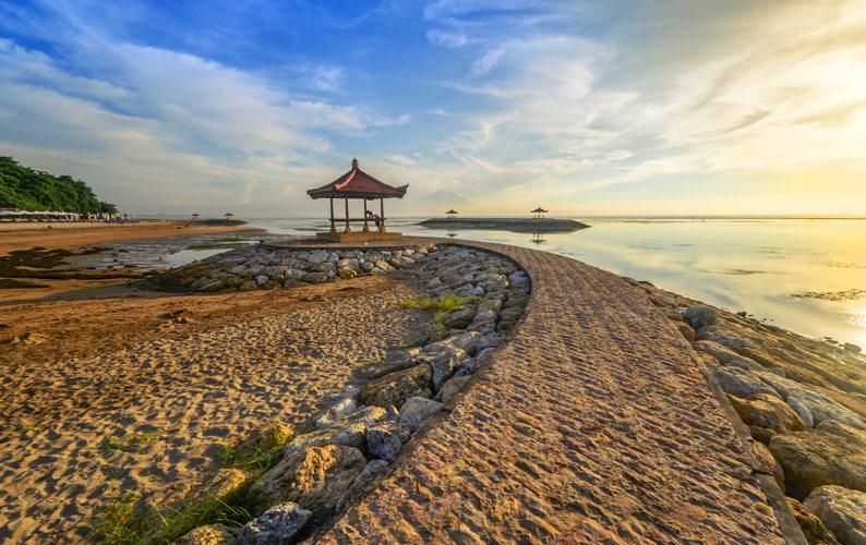 Plage sublime à Samur à Bali