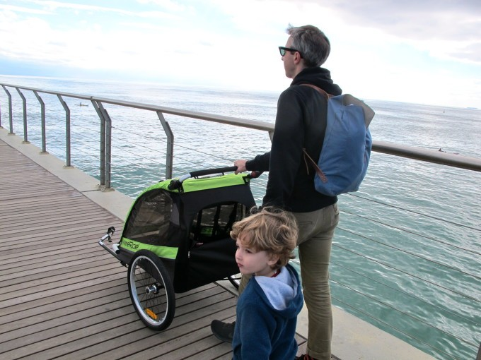 WeeRide Trailer deluxe, la solution pour les familles cyclistes