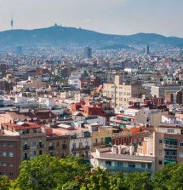 Destination avec parcours dans Barcelone