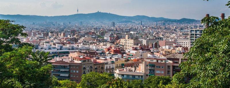 Itinéraire dans Barcelone et hôtels...