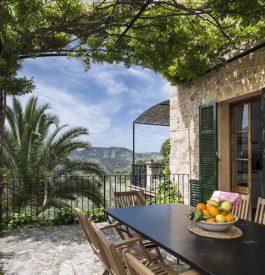 Vue imprenable depuis la terrasse de la maison de Pilar !