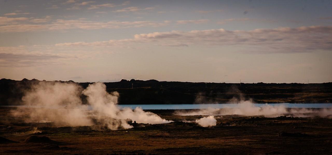 Les geysers en Islande