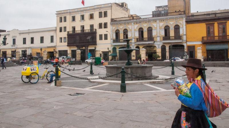 Les traditions dans de vieux quartiers de Lima