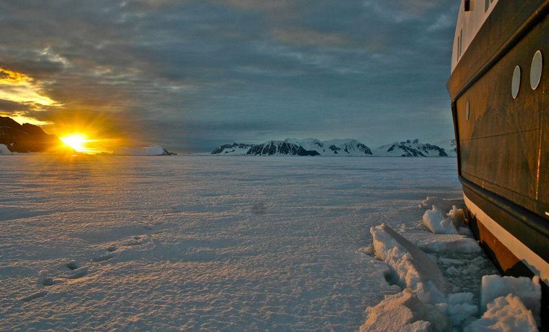 Une expédition de luxe en Antartique