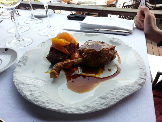 Déjeuner au Xalet de Montjuïc
