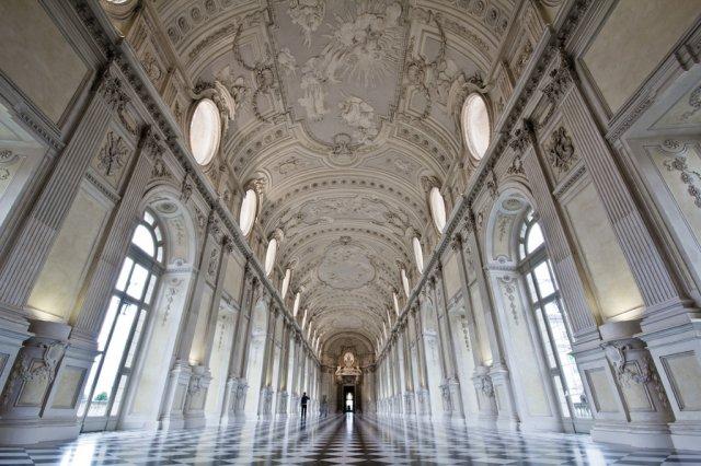 A la Grande Galleria Turin