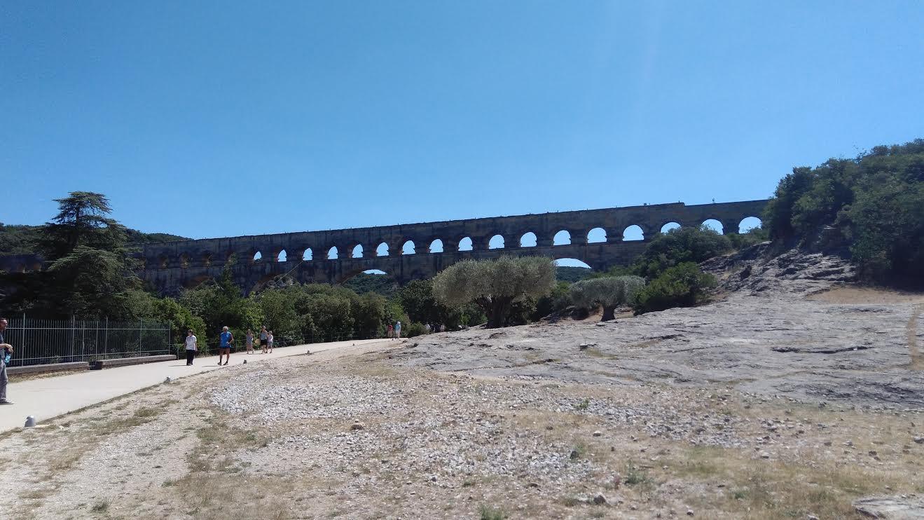 Petit détour vers le Pont du Gard non programmé