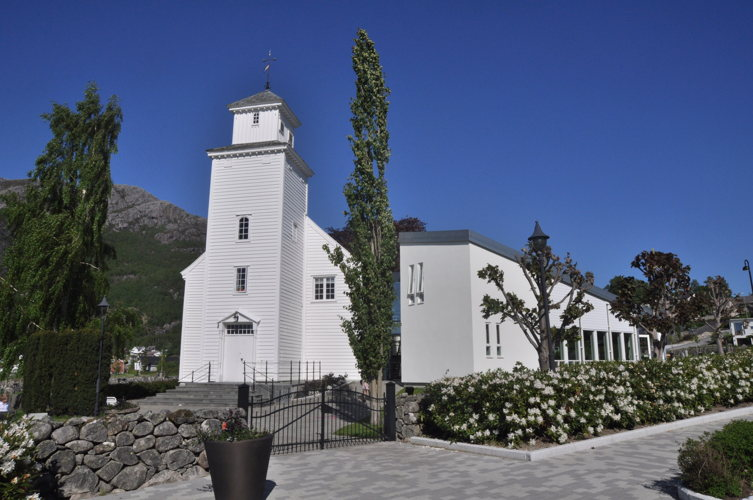 Une jolie église