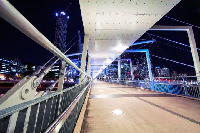 Sur les routes en Australie à Brisbane