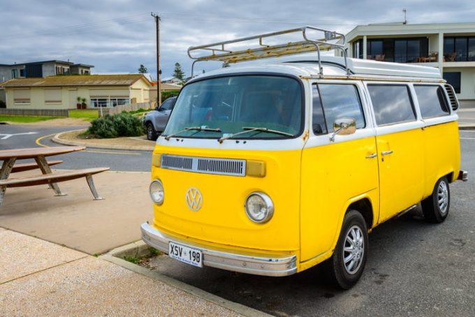 Sur les routes en Australie à Brisbane avec mon van