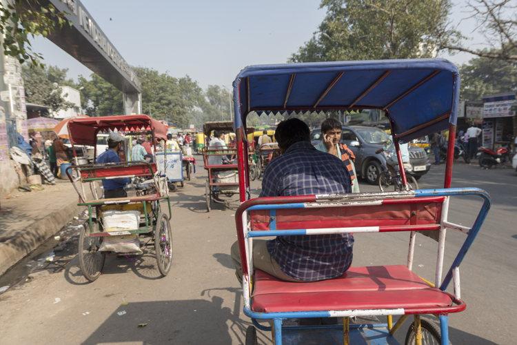 Balade en Rickshaw