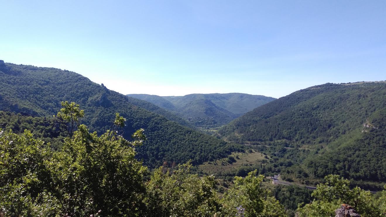 Dans les Cévennes en Aveyron