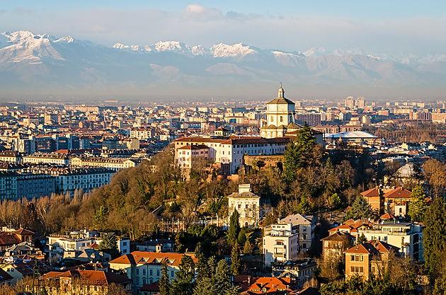 Vue sur Turin