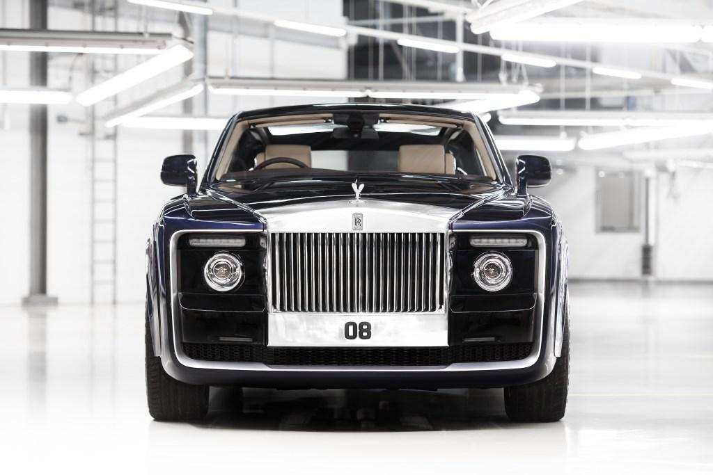 Dessin de la Rolls Royce