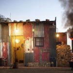 Dormir dans un bidonville en Afrique du Sud