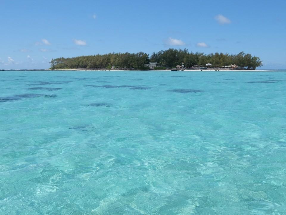 Arriver sur l'île des deux cocos