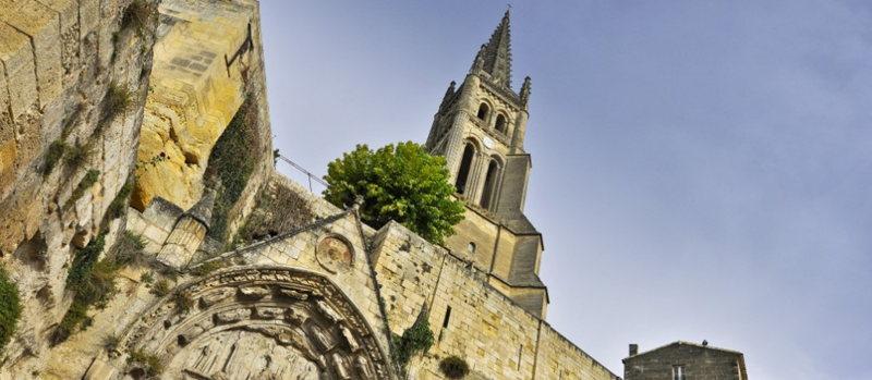 On peut également grimper en haut du clocher... Courage pour les plus téméraires !