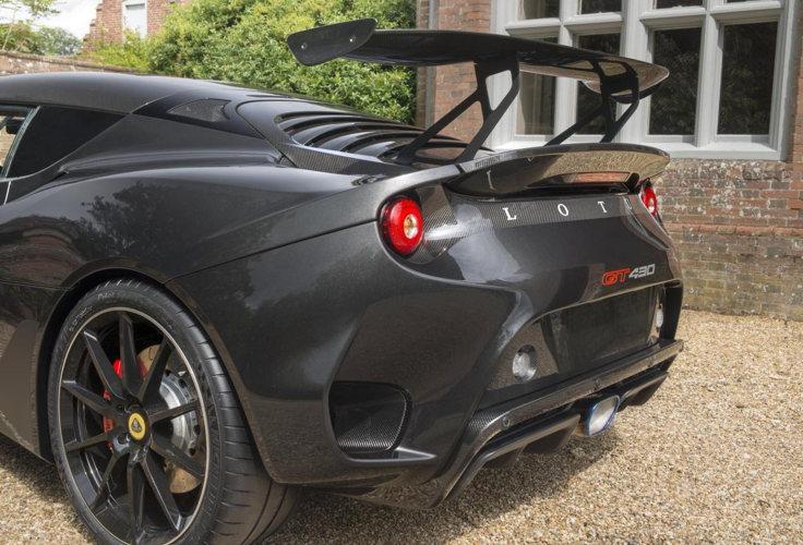 Design incomparable pour la lotus Evora GT430