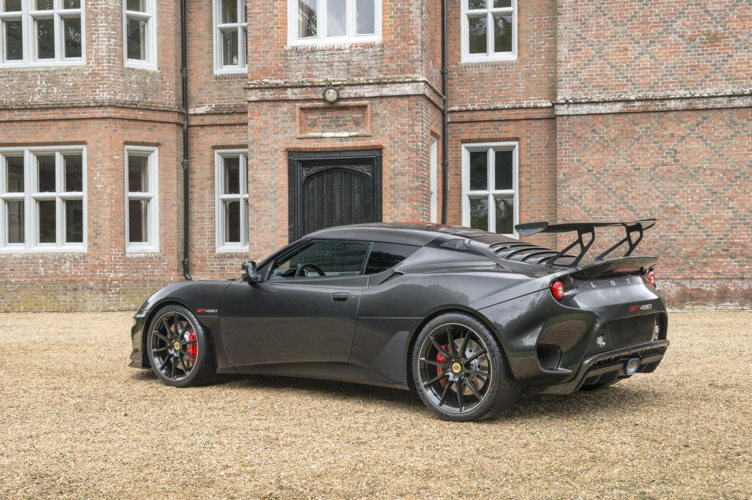 Sublime engin, la Lotus Evora GT430