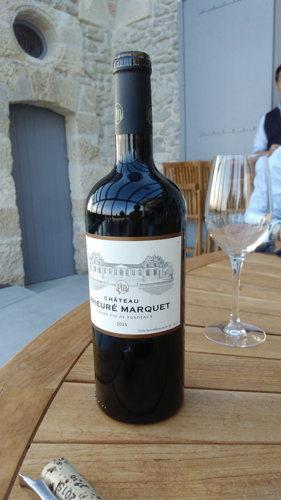 Un vin rouge du Château Prieuré Marquet