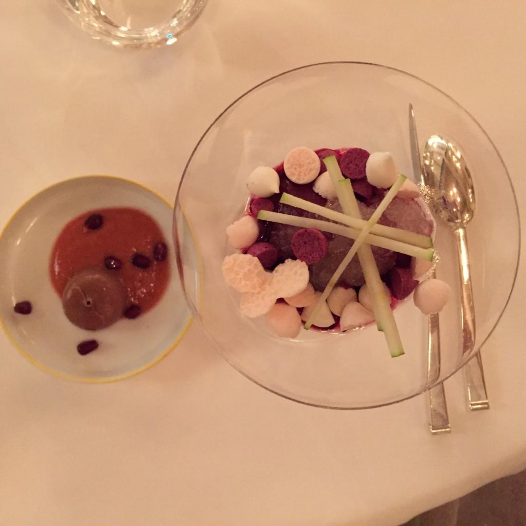 Un plat exquis de Pierre Gagnaire
