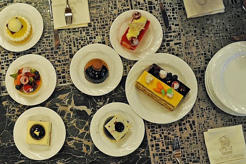 Instant gourmandise au Ritz Carlton à Dubaï
