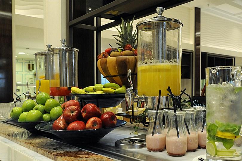 Le buffet du Ritz Carlton à DuBaÏ