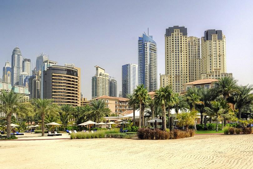 Le Ritz-Carlton sur la plage de Jumeirah à Dubaï