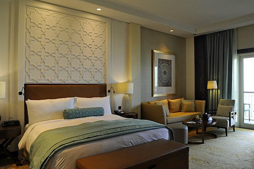 Ma chambre au Ritz Carlton à Dubaï