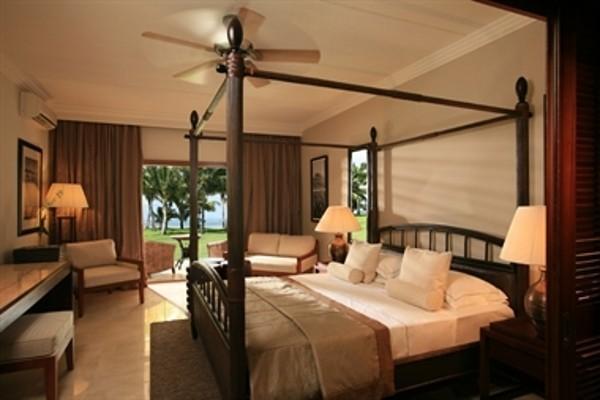 Dans ma chambre à l'hôtel Lux Resorts au Grand Gaube à l'île Maurice