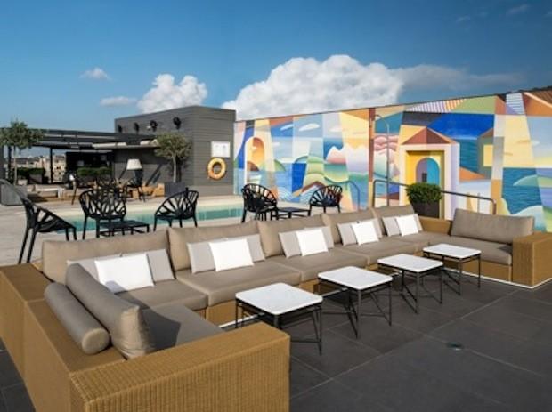 Des penthouses de luxe à l'hôtel Majestic à Barcelone