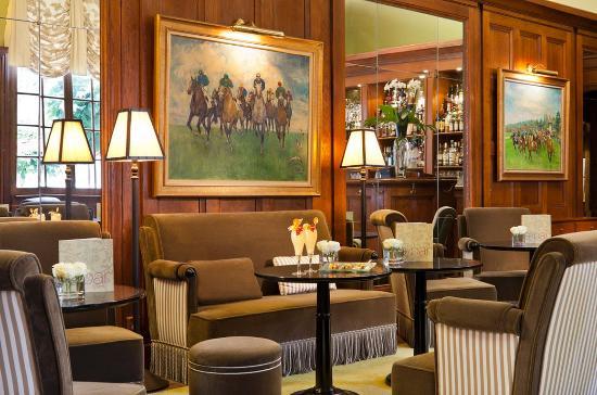 Les salons de l'hôtel Normandy à Deauville