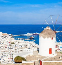 Périple en Grèce à Mykonos